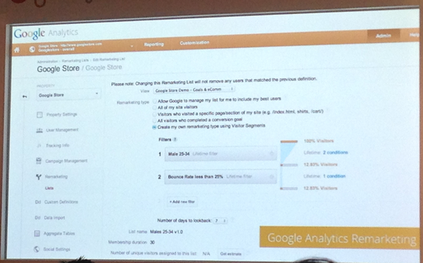 Googleアナリティクスのリターゲティング機能拡張