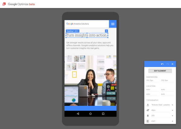 google-optimize